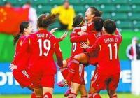 中國女足世界排名多少?