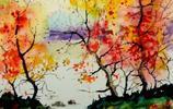 極致色彩丨水彩藝術家 Z. L. Feng 繪畫作品欣賞