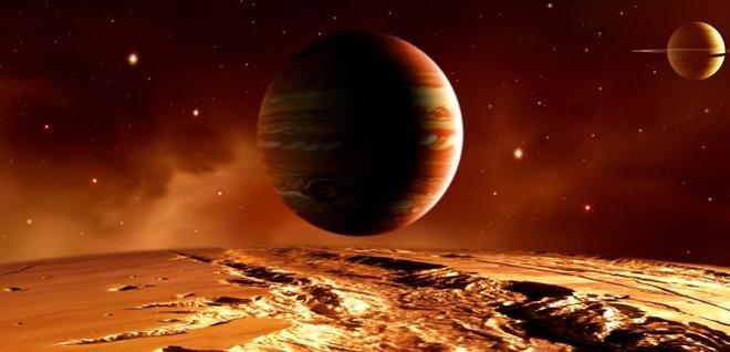 美麗的星球和浩瀚的宇宙