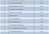 工信部公佈2017年(第16屆)中國軟件業務收入前百家企業名單