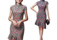 夏天,旗袍怎麼穿才好看,那些款式適合日常?