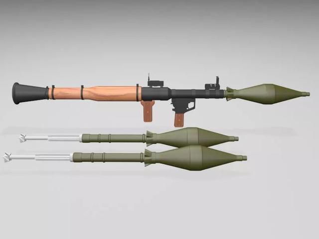 行走的步兵大炮—PRG火箭筒!