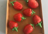 小學泥塑:草莓