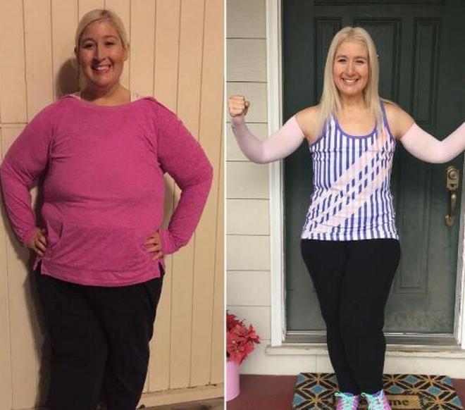 實拍:女孩胖達450斤,為配上帥男友,她狂減320斤,如今成大美人