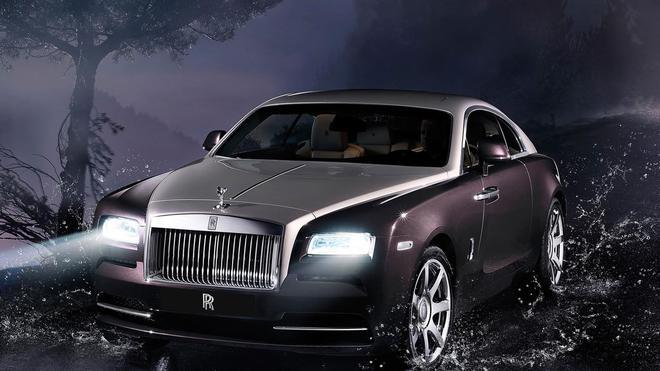 汽車圖集:2014款勞斯萊斯Wraith