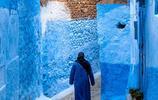 """比聖托裡尼還""""藍"""",這座北非小城放眼望去只有一種顏色"""