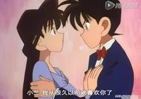 名偵探柯南中喜歡新一的5位女孩,麻美表白失敗,步美竟搶了初吻