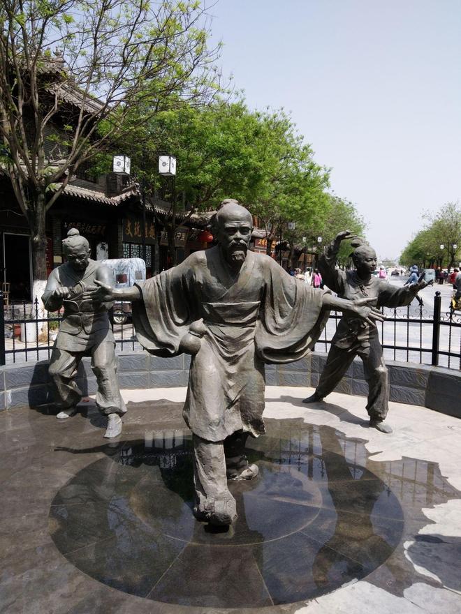中華健身養生雕塑-華佗五禽戲