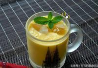 椰漿芒果冰飲:等不及夏天就想喝冷飲了