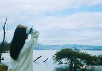 海南女孩旅行雲南,大理洱海不是海!走一圈就能看到它的真面目!
