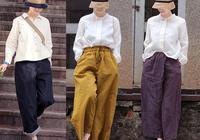 高配色,高文藝,只要衣服穿搭的好,身材缺陷完全可以修飾