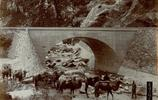 百年老照片:詹天佑修建的京張鐵路和開通紀念