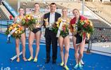 國際田徑比賽在柏林奧林匹克體育場舉辦,美女運動員們揮汗如雨