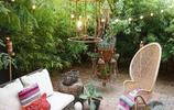 老公不愧是學園林設計的,把陽臺設計的像花園一樣,美得心曠神怡