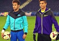 與內馬爾合拍廣告 16歲入選成年國家隊 如今的他已無球可踢?