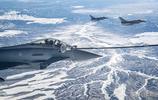 紅旗軍演正在進行中 F-18和颱風戰機進行空中加油