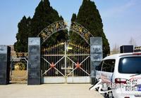 黃河新聞網忻州頻道全體人員繁峙縣烈士陵園祭拜
