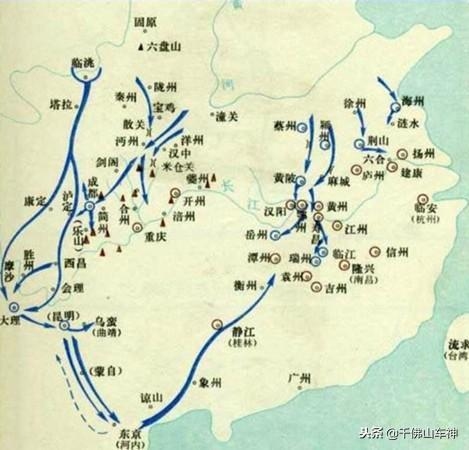 北方政權在統一中國時為什麼總是首先選擇攻打四川和湖北呢?