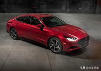 2020款現代索納塔,轎跑外觀與高科技結合,或將成為B級車霸主