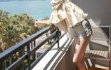 娜紮在戛納的幾套私服照片,人美穿什麼都好看系列。