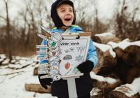 引導孩子做份自然筆記,見證冬季大自然之美,讓旅行更有趣