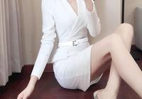 身材微胖穿這樣的包臀裙才迷人,美過旗袍,輕盈保暖回頭率高