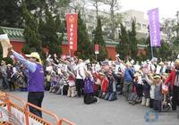 臺400群眾向蔡英文下跪陳情 當局出動600軍警護小英