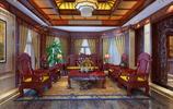 「24圖」為什麼有錢人都喜歡中式,直到看了這套別墅裝修,我懂了