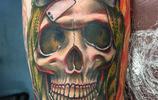 紋身圖案——骷髏