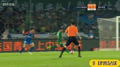 GIF-國安反超!楊帥手球,奧古斯托命中點球