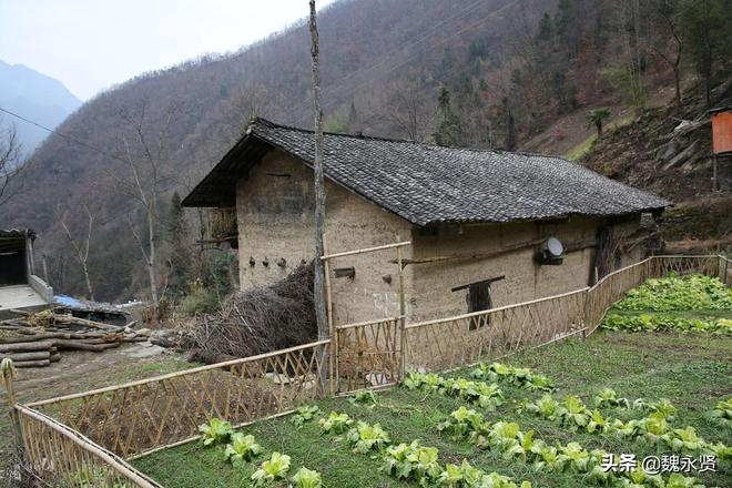 山溝裡的土屋有的廢了有的花百萬改造,奶奶守著土屋用石磨磨豆腐