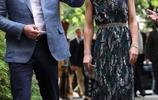 凱特王妃換上印花長裙仙女範十足!款式新穎不輸於時尚名媛