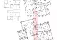 老公堅持買了160㎡頂樓複式,改成6間房,雙方父母都能住進來