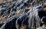 這裡一處山坡上巨石相擁 遠看像國畫 近看像國畫 細看還像國畫