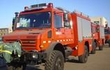 現場實拍400萬人民幣的越野車,奔馳烏尼莫克U5000消防救援車