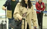 蔣欣素顏現身機場露小尖臉 網友:終於見到個出行不戴口罩的明星