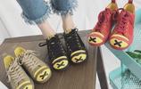 在看到這種鬼馬風格帆布鞋之前,總是覺得帆布鞋很單調