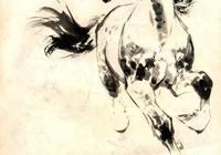 「PP連環畫」人民美術1977年版《動物畫資料》劉繼卣畫馬技法