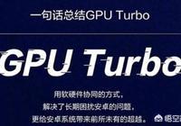 GPU Turbo除了玩遊戲還能幹什麼?
