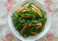 尖椒炒豆乾