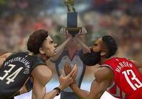 哈登和字母哥全票入選第一陣容,MVP花落誰家?