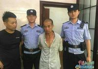撫州市公安局青雲防區民警當場抓獲一名盜竊嫌疑人