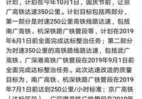 你期待南廣高鐵提速250km/h,京廣高鐵提速350km/h嗎?