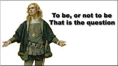 雙語美文:To Be or Not To Be