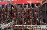 青島開啟香腸模式 滿街香腸飄香