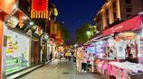 風景圖集:杭州清河坊街,杭州的歷史文化中心,古色古香
