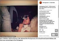 傻臉娜刪除自己社交媒體上最後一張前男友賈斯汀·比伯的照片