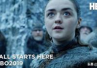 《權力的遊戲》第八季最新片段發佈:A Girl Has Seen a Dragon.