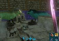 玩家在方舟生存進化手遊中馴服恐狼,幾天不到繁殖出恐狼大軍
