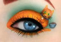 眼妝竟然也可以畫的這麼有藝術感,太美了!